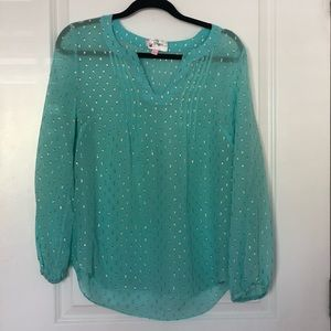 Lilly Pulitzer Colby top size small